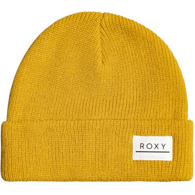 Roxy Island Fox Beanie Women, mineral yellow